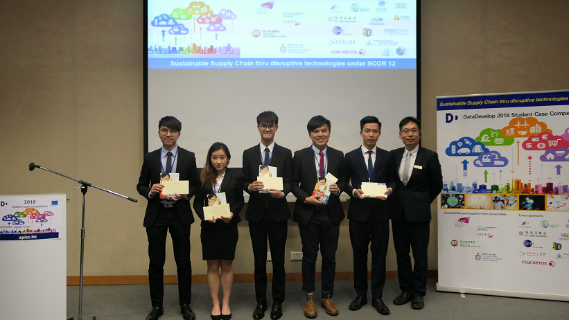 1st runner up team in DataDevelop 2018 Student Case Competition