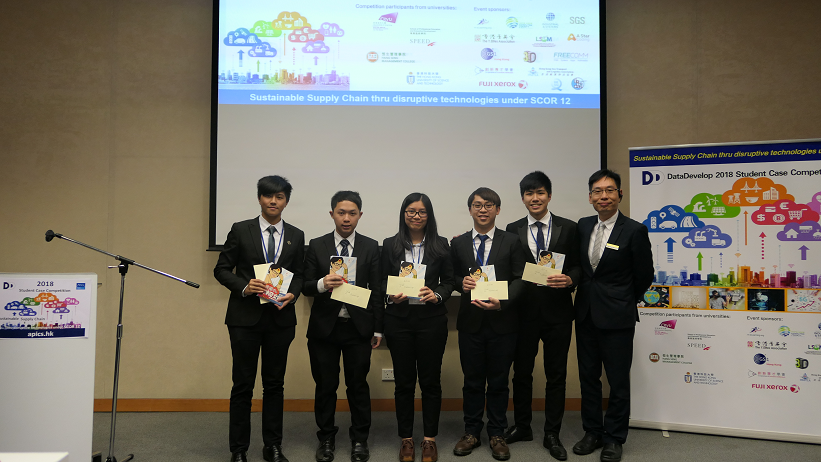 2nd runner up team in DataDevelop 2018 Student Case Competition