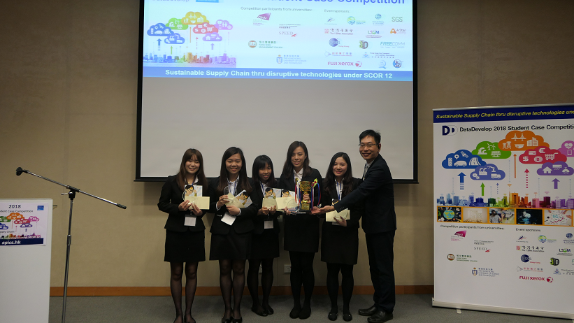 Winner Team in DataDevelop 2018 Student Case Competition